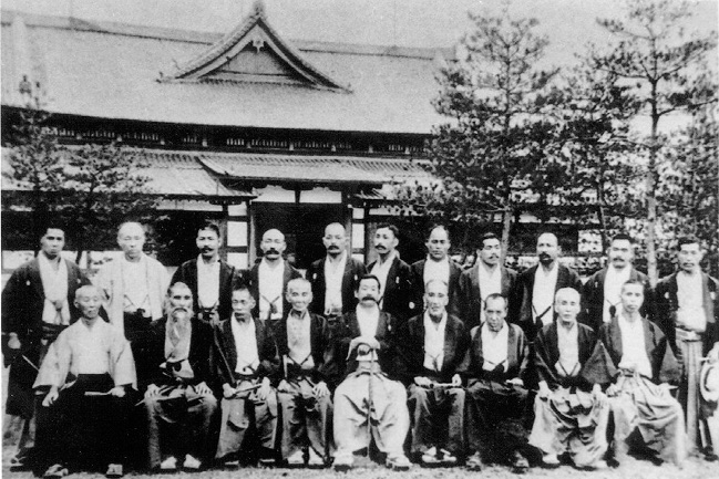 On July 24, 1905, representatives of the leading jujitsu schools (ryu) of Japan, gathered at the Butokukai Institute in Kyoto to agree upon the forms of Kodokan Judo and to continue the development of the technical forms of Kodokan Judo .